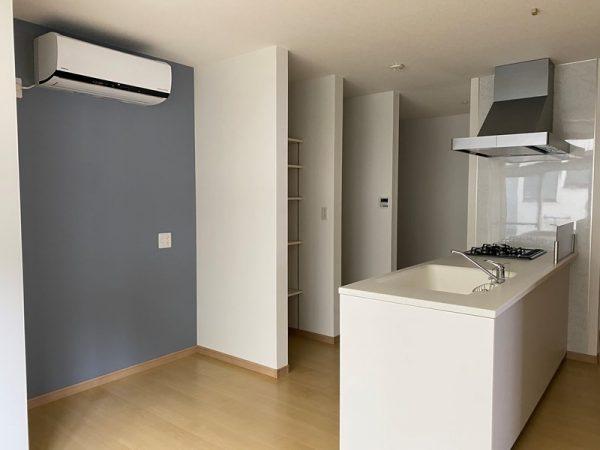 自社施工例「キッチンとリビングダイニングをひとつの空間に」